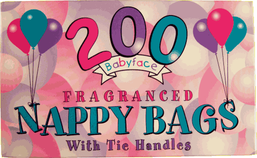 Nappy Sacks 200s Fragranced – 24 per Case